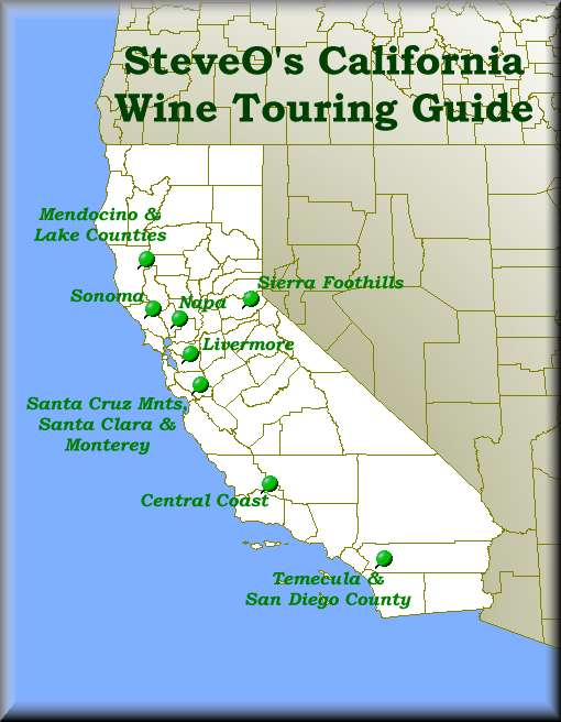 SteveOs Introduction to the California Wine Regions